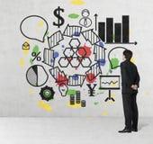 Plan empresarial Imagenes de archivo