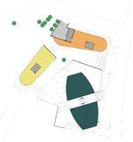 plan för byggnadsgolvjordning Arkivfoton