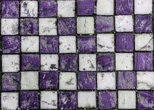 Plan för textur för bakgrund för marmorstenfyrkanter fast Royaltyfri Bild