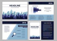 Plan für Geschäfts- oder Seminardarstellung Stockbilder