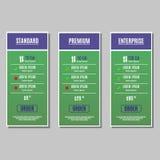 Plan für Website Stockbild