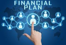 Plan financier Images libres de droits