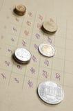 Plan financier personnel Image libre de droits