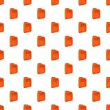 Plan folder pattern, cartoon style. Plan folder pattern. Cartoon illustration of plan folder vector pattern for web Stock Photography