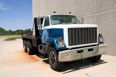 plan främre lastbil för vinkelunderlag Royaltyfri Bild
