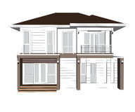 Plan Home Design Stock Images