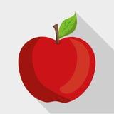 Plan illustration av fruktdesignen Royaltyfri Fotografi