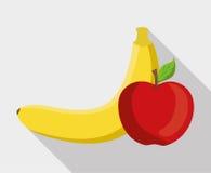 Plan illustration av fruktdesignen Arkivfoton