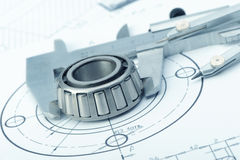 The plan industrial details Stock Photography