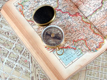 Plan a journey Stock Images