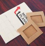 Plan mensuel Photographie stock