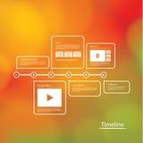 Plan mit vielem Raum für Ihren Inhalt Plan mit vielem Raum für Ihr conten Lizenzfreies Stockbild