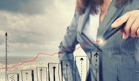 Plan of my success Stock Photos