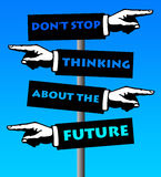 Plan na przyszłość Zdjęcie Stock