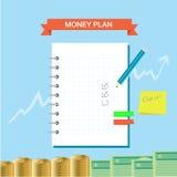 Plan notatka 002 Zdjęcia Stock