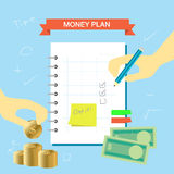 Plan Note 003 Royalty Free Stock Photo