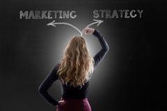 Plan o estrategia de márketing fotos de archivo