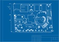 Plan ogród ziemia Zdjęcia Stock