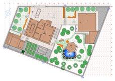 Plan ogród ziemia Obrazy Stock