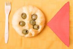 plan olivgrön för bröd Arkivfoto