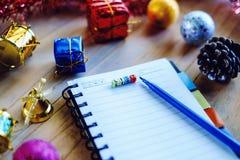 Plan para hacer la lista por año que comienza Fotografía de archivo libre de regalías