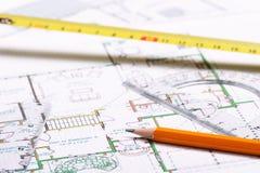 plan piętra Fotografia Stock