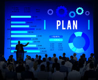 Plan Planning Analysis Business Strategy Concept Stock Image