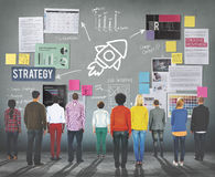 Plan Planning Strategy Business Ideas Concept Royalty Free Stock Image