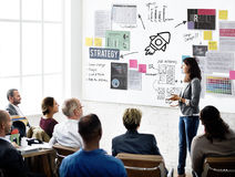 Plan Planning Strategy Business Ideas Concept Stock Photo