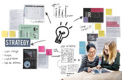 Plan Planning Strategy Bysiness Ideas Concept.  Stock Photo