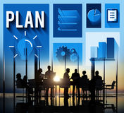 Plan Planning Strategy Ideas Business Inspiration Concept Royalty Free Stock Images