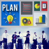 Plan Planning Strategy Ideas Business Inspiration Concept Royalty Free Stock Photos