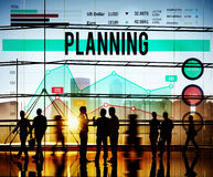 Plan Planning Strategy Marketing Vision Concept Royalty Free Stock Images
