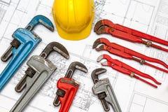 Plan plumber Royalty Free Stock Photo