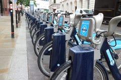 Plan public de bicyclette à Londres Photos stock