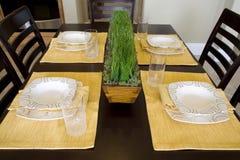 Plan rapproché 1713 de table de cuisine Photos libres de droits