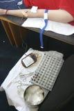 Plan rapproché 2 d'extraction de sang Image libre de droits