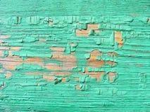 Plan rapproché abstrait sur le contexte vert Fond en bois de texture de vieux vintage photographie stock libre de droits