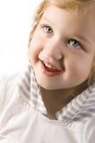Plan rapproché adorable de petite fille Photo libre de droits