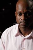 Plan rapproché africain d'homme Images libres de droits