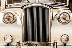 Plan rapproché Antic brillant de limousine de l'avant Images stock