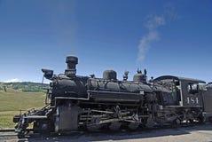 Plan rapproché antique de machine à vapeur Images stock