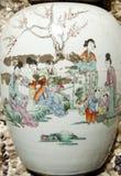 Plan rapproché antique de vases Image libre de droits