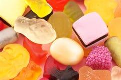Plan rapproché assorti de sucrerie photographie stock libre de droits