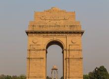 Plan rapproché au mémorial de guerre de porte d'Inde Images libres de droits