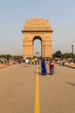Plan rapproché au mémorial de guerre de porte d'Inde Photo stock