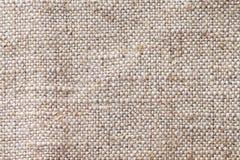 Plan rapproché beige léger de fond de textile Structure du macro de tissu Photos stock