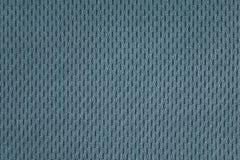 Plan rapproché bleu vert de tissu thermo perforé photo libre de droits