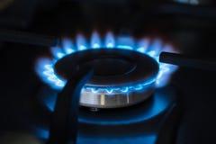 Plan rapproché brûlant de brûleur Image stock