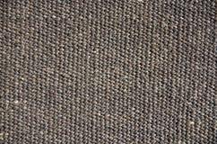 Plan rapproché brut de tissu de nouvelle laine images stock
